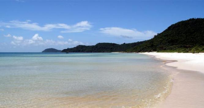 Crystal clear waters, Phan Thiet, Vietnam