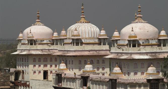 17th century Hindu Temple, Orchha, India