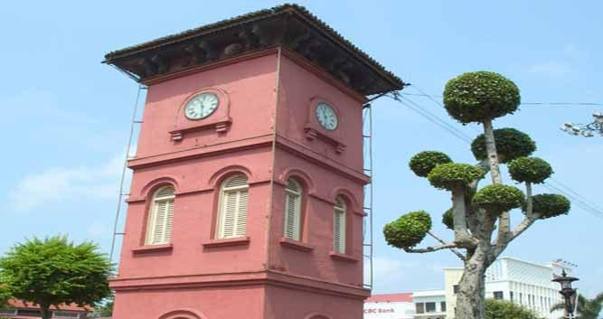 Historical building, Malacca, Malaysia