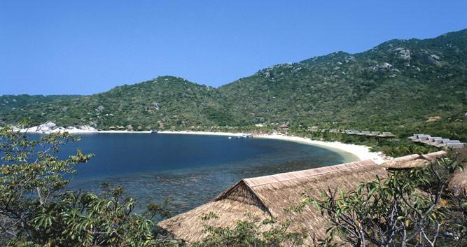 Coastline of Nha Trang, Vietnam