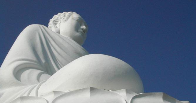 Giant seated Buddha, Nha Trang, Vietnam