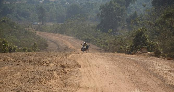 Kratie province, Eastern Cambodia