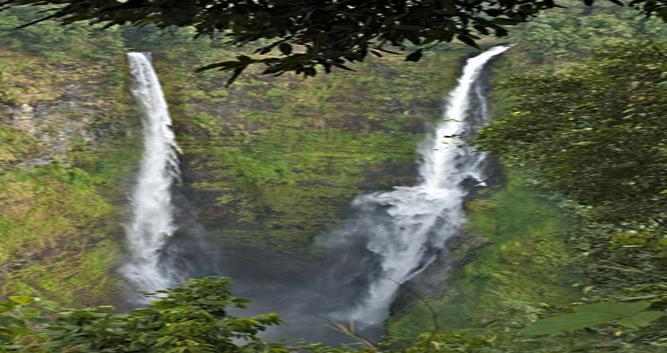 Tad Fane waterfall, Bolaven Plateau, Laos