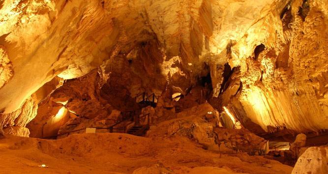 Cave system, Mulu National Park, Sarawak, Borneo