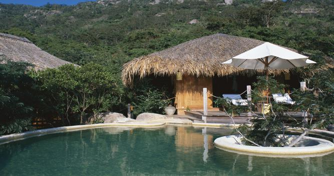 Swimming pool, Six Senses Hideaway, Ninh Van Bay, Nha Trang