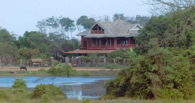 Traditional house, Ratanakiri province, Cambodia