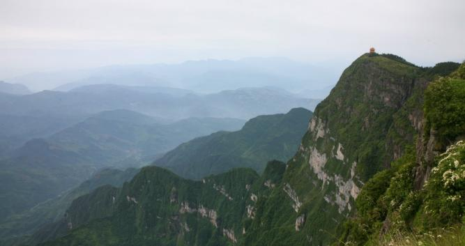 View-from-summit-Mt-Emeishan-near-Chengdu-China