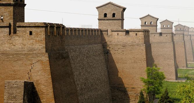 Pingyao City Walls 2 in China Luxury Travel