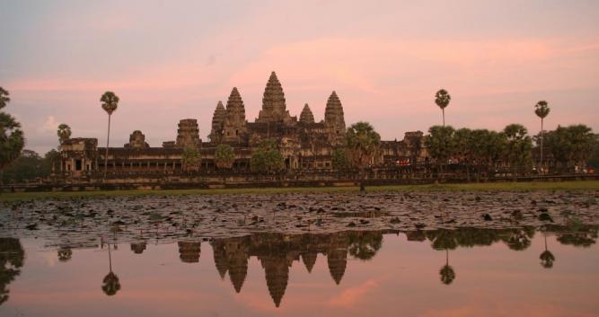 Angkor Wat, Siem Reap, Cambodia, Southeast Asia