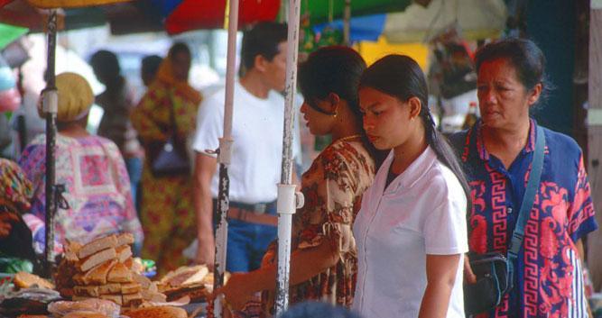 Local market, Kota Kinabalu, Borneo