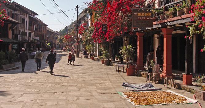 Bandipur High Street - Luxury Nepal Holidays