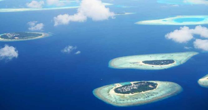 Atols, The Maldives, Indian Ocean