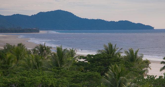 Coastal view, Sabah, Borneo