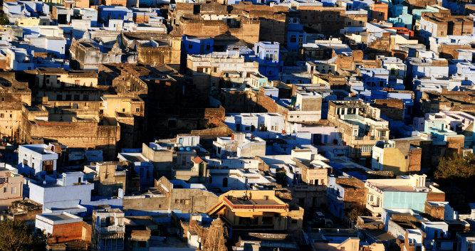 Old town of Bundi, India