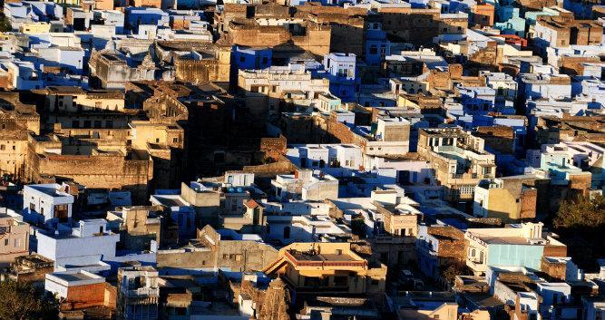 Old town of Bundi, India