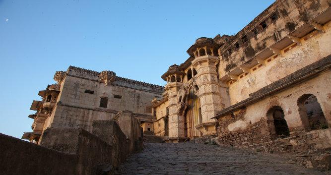 Exterior of Bundi Palace, Bundi, India