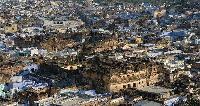 City view, Bundi, India