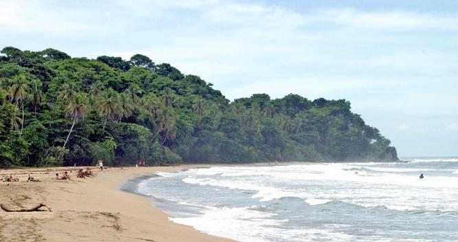 Isolated stretches of coastline, Puerto Viejo, Costa Rica