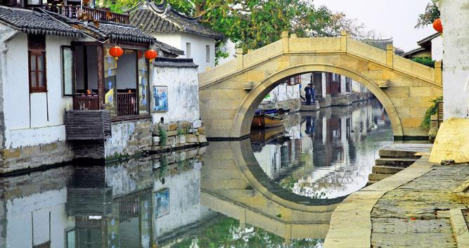 Water Village near Suzhou in Luxury China Travel