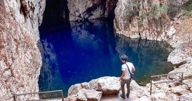 Chinhoyi Caves