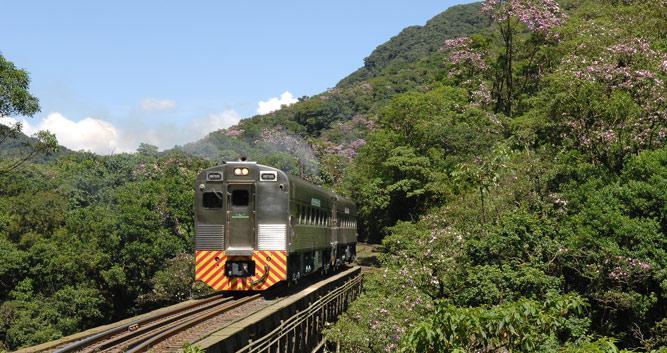 Through the Marumbi National Park, Serra Verde Express, Brazil