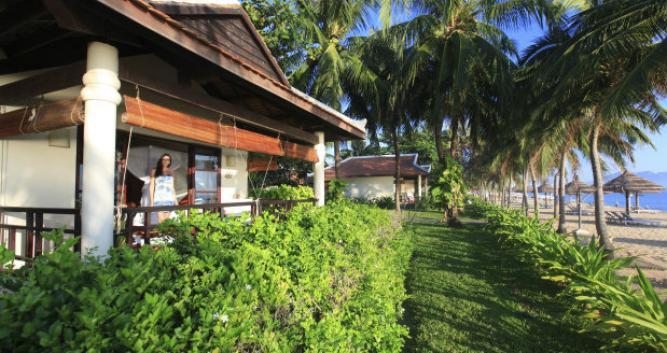 Deluxe beachfront villa, Evason Ana Mandara, Vietnam