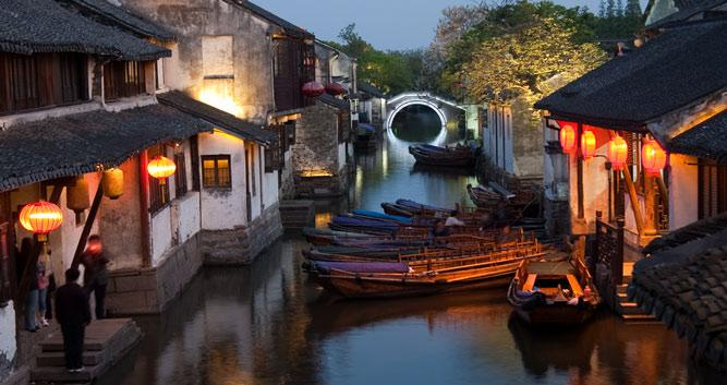 Water Village of Tongli, near Shanghai in China Luxury Travel