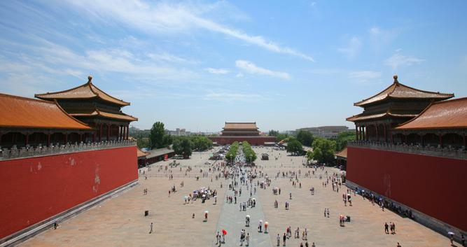 Forbidden City, Beijing, in Luxury China Travel