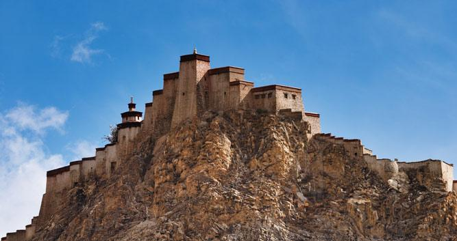 Gyantse, Tibet, China