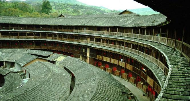 2. Hakka Tulou earth dwellings, near Xiamen in Luxury China Travel