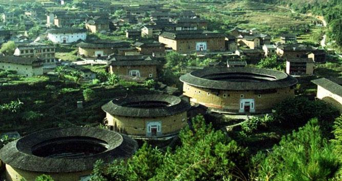 5. Hakka Tulou earth dwellings, near Xiamen in Luxury China Travel