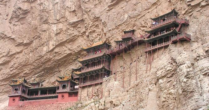 Hanging-Monastery-near-Datong-China
