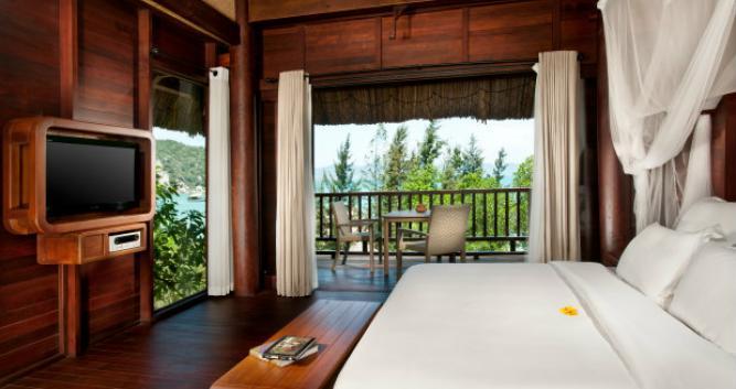 Hill rock villa bedroom, An Lam Villas, Ninh Van Bay, Nha Trang