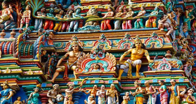 Hindu temple Kapaleeshwarar, Chennai, India