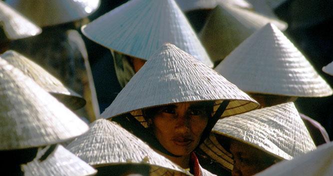 Forest of hats, Hoi An, Vietnam