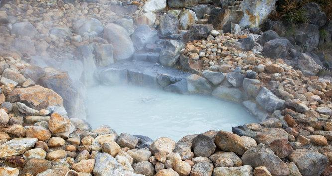 Natural Hot water springs - Hakone - Luxury Japan Tours