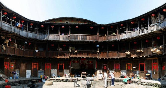 3. Hakka Tulou earth dwellings, near Xiamen in Luxury China Travel