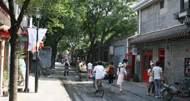 Hutong - ancient back alleyway - in Bejing, in Luxury China Travel