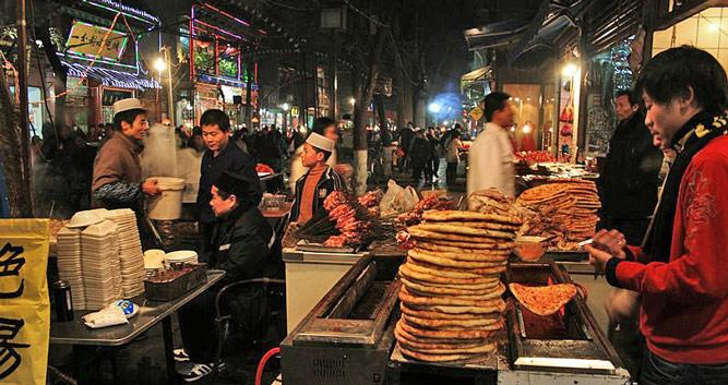 Islamic Quarter, Xian in Luxury China Travel
