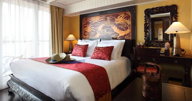 Signature Bao Dai Stateroom, the Jayavarman, luxury Mekong cruise, Vietnam