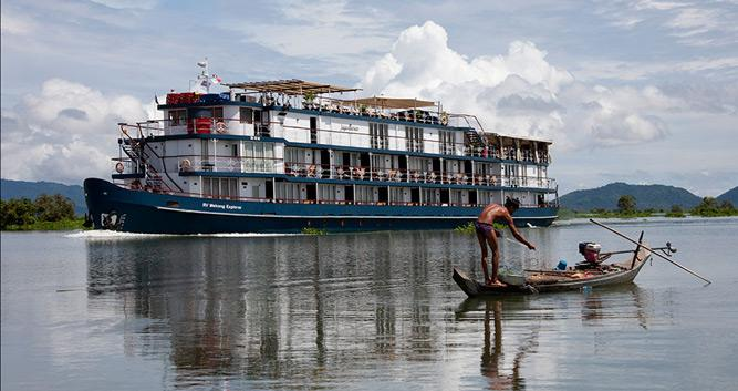 The Jayavarman, luxury Mekong cruise, Vietnam