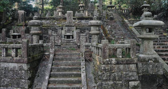 Koya San - graveyard - Mount Koya  - Luxury Japan Travel and Tours
