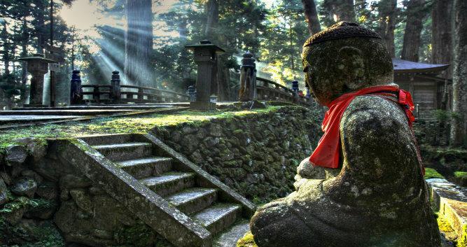 Okunoin Cemetery at Mount Koya  - Luxury Japan Travel and Tours