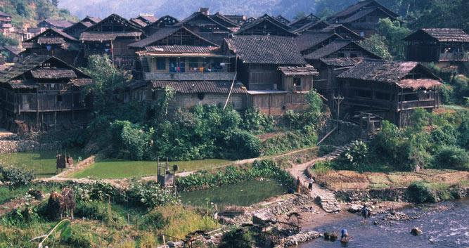 Village near Guilin, in China Luxury Travel