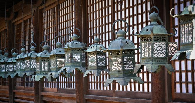Lanterns in Nara Temple - Luxury Japan Travel and Tours -