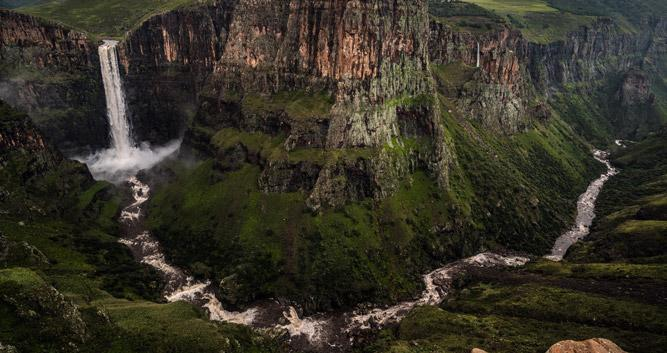 Maletsunyane Waterfalls