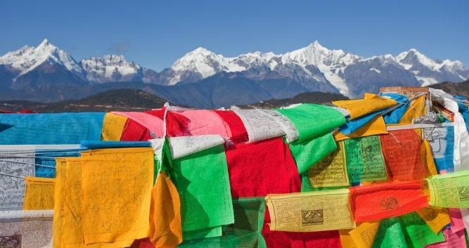 Meili Snow Mountain, Lijiang, Yunnan, China