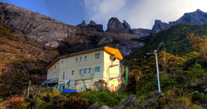 Laban Rata Resthouse, Mount Kinabalu, Borneo