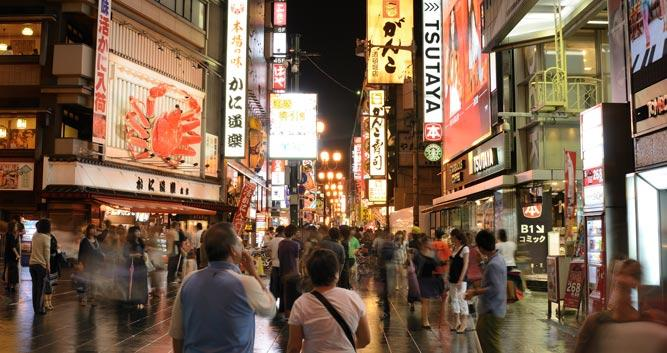 Dotonbori-is-the-main-entertainment-and-nightlife-district - Luxury Japan Tours