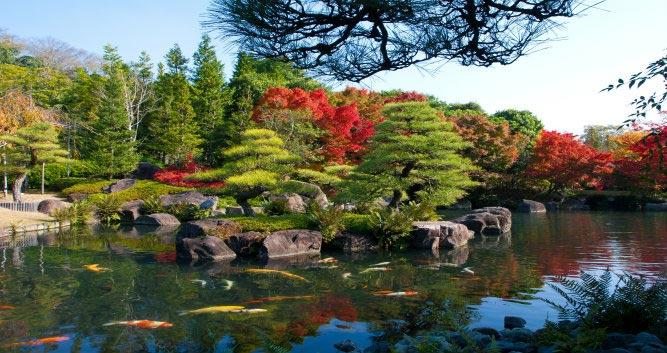 Koko-en-outdoor-park-Osaka  - Luxury Japan Tours